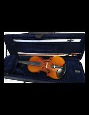 2 Stü Massivholz Frontplatte Mit Rückwand Für Violinen Geigen Zubehör