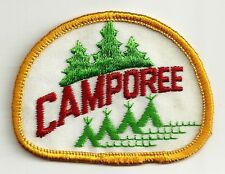 BSA Red & Green Camporee Patch V9