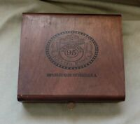 REMEDIOS 95  wooden Cigar box empty - MORE IN STORE