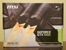 MSI NVIDIA GeForce GTX 1050  OC Edition 2GB 128-Bit GDDR5 DirectX 12 PCI-E 3.0