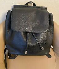 Marc Jacobs New York Pebbled Leather BackPack - Black - Retail $425