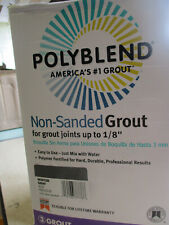NEW Polyblend Grout Non-Sanded WINTER Gray GREY 10-Lb. 10LB GROUT U15