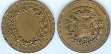 Médaille de table - FINIISTERE commission d'examen des notaires d=50,2mm triang