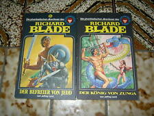 Jeffrey Lord, 2 Bände Richard Blade