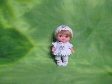 "Berenguer 5-1/2"" Lil Cutesies Doll + Custom Clothes Kemper Blonde Mohair Wig Set"