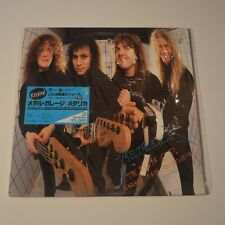 "METALLICA - THE $5.98 E.P./GARAGE DAYS RE-REVISITED - 1987 JAPAN 12"" EP 5 TRACKS"