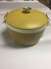 Vintage Sunfrost Insulated Serving Dish Or Ice Bucket Therm-O-Ware Locking