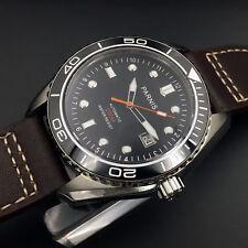 42mm Parnis Japan Automatic Movement Men's Watch Ceramic Bezel Water Resistant