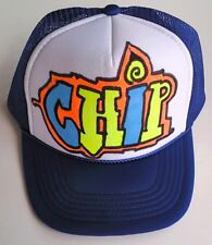 Chip Name Gift Trucker Hats Caps Personalized Custom Airbrush Kids Youth Art