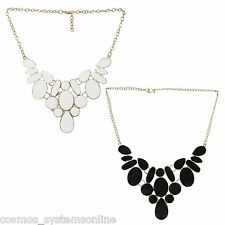 CosMos Fashionable Metallic Jewellery Antique Combo Necklace for Girls/Women
