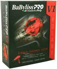 BABFRV1 BABYLISS PRO NANO TITANIUM VOLARE V1 HAIR BLOW DRYER FERRARI ENGINE RED