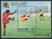 Malawi postfris 1982 MNH Block 60 - WK Voetbal 1982 (S1246)