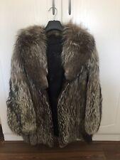 ladies vintage real fur coat