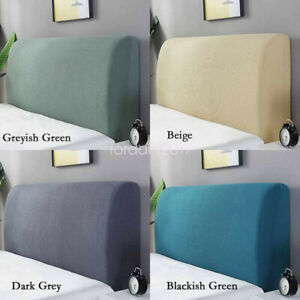 Easy Stretch Headboard Slipcover Dustproof Protector Cover for Bedroom Decor