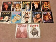 Lot of 12 MADONNA ICON MAGAZINES OFFICIAL FAN CLUB Issues 1995 MINT
