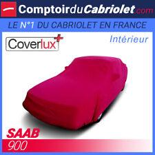 Housse Coverlux+ sur-mesure rouge pour Saab 900