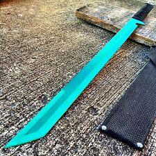 "27"" FULL TANG NINJA MACHETE KATANA SWORD ZOMBIE TACTICAL SURVIVAL KNIFE NEW.S"