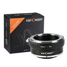 Camera Lens Adapter For Nikon AI F Mount Lens to Fuji Fujifilm FX X-Pro1 X-E1 E2