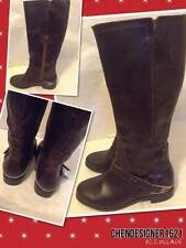 NEW UGG Australia Size 6 US Chaining II Knee-High flat riding boots Brown