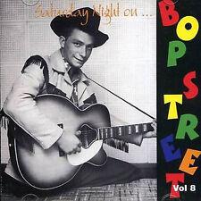 SATURDAY NIGHT ON BOP STREET Volume 8 CD - 1950s Rockabilly Rock 'n' Roll - NEW