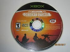 Conflict: Desert Storm (Microsoft Xbox, 2002) Disc Only