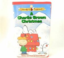 A Charlie Brown Christmas VHS Movie