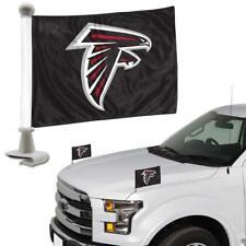 Atlanta Falcons NFL Ambassador Car Flag Hood / Trunk 2 Piece Set-New