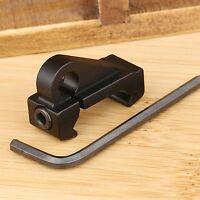 Hunting Quick Detach Sling Swivel Mount Attachment 20mm Weaver Rail Hook Adapter