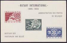 Belgium 1955 MNH Sheet FEUILLET DE LUXE Cob#LX18 Rotary - Cat Val 275 €....A4798