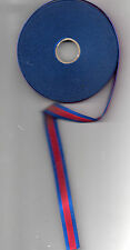1 X METRE MINIATURE RIBBON FOR THE  WATERLOO MEDAL