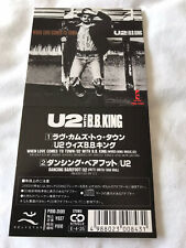 "U2 WITH BB KING WHEN LOVE COMES TO TOWN JAPAN 3"" INCH CD SINGLE 1989 VERY RARE"