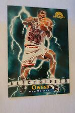 NBA CARD - Sky Box - Electrified Series - Billy Owens - Miami Heat