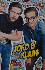 JOKO & KLAAS - A3 Poster (ca. 42 x 28 cm) - Clippings Fan Sammlung NEU