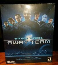 Star Trek: Away Team Video Game Big Box NEW FACTORY SEALED Windows PC Video Game