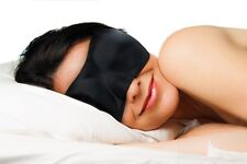 Dream Essentials Sweet Dreams™ Sleep Mask w/Carry Pouch and Earplugs - Black