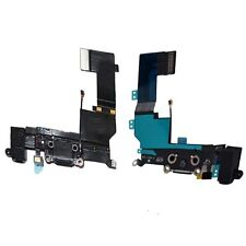 iPhone 5S Data SYNC Charging Block Port Dock Assembly Flex Cable Mic Black UK