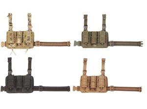 HSGI 21DL00 Leg Rig V1-Multicam-Coyote-Olive Drab-Black-MC Black