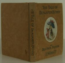 BEATRIX POTTER The Tale of Benjamin Bunny FIRST EDITION