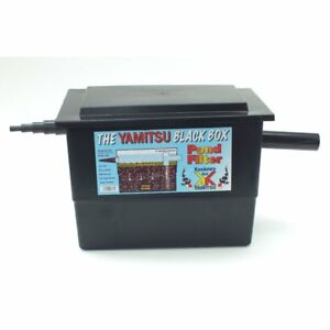 BASIC MEGA FILTER Black Box Fish Pond Filter System - Kockney Koi Yamitsu