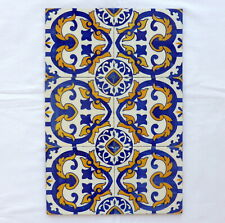 Set of 6 portuguese TILES CARVALHINHO PORTO vintage