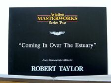 Coming In Over The Estuary Robert Taylor Multi-Page Advertising Brochure