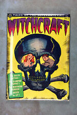 Witchcraft Magnet - 1952 Witchcraft Comic Book Cover Death Tattoo Vampire Puppet