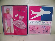 BARBIE PASSPORT TO PINK 2012 NATIONAL BARBIE DOLL COLLECTORS CONVENTION NEW
