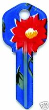 FLOWER KW-1 HOUSE KEY BLANK (KW1-BF)