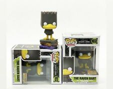 Funko Pop BART SIMPSON THE RAVEN Treehouse Of Horror BOXLUNCH IN HAND 💥