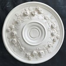 R79 Ceiling Rose  in Fibrous Plaster - 550mm - COLLECTION ONLY