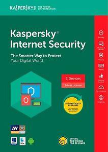Kaspersky Internet Security 2019 5PC 1 year