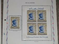 Ras Al Khaima-In Memory of John F. Kennedy, Mint Hinged, no pages