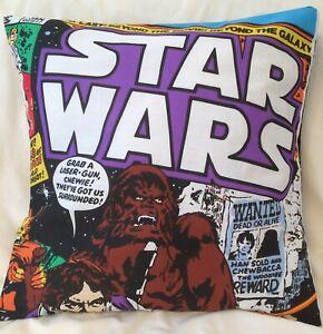 Star Wars Retro Magazine Chewbacca Handmade Cushion Cover 16 inch