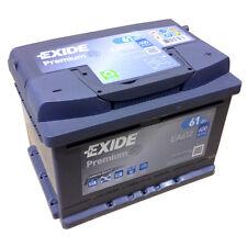 Exide premium carbon Boost EA 612 12v 61ah Model 2014/15 kälteprüf-s en (a): 600
